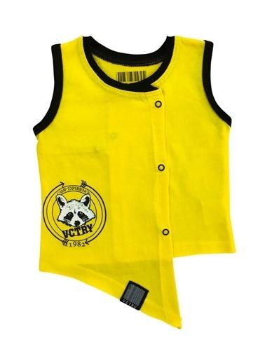 Baby Set Yelek Sarı